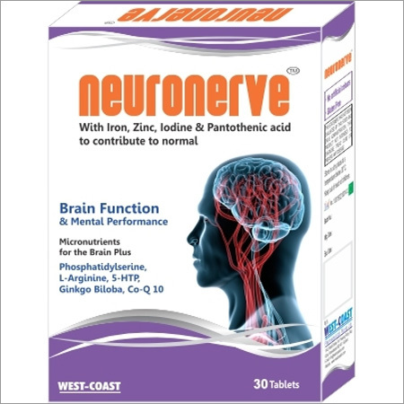 Brain Function & Mental performance Tablets