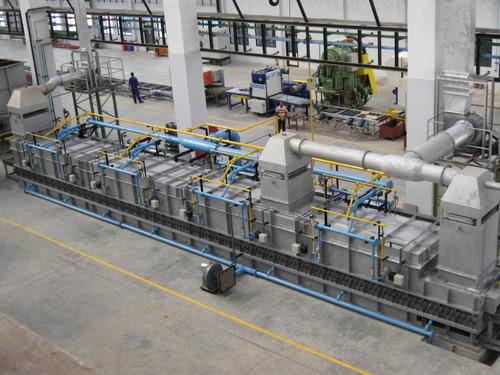 roller hearth furnace