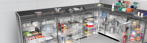 Kitchen Trolley Baskets