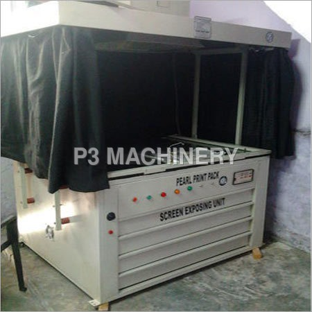 Manual Screen Exposing Machine