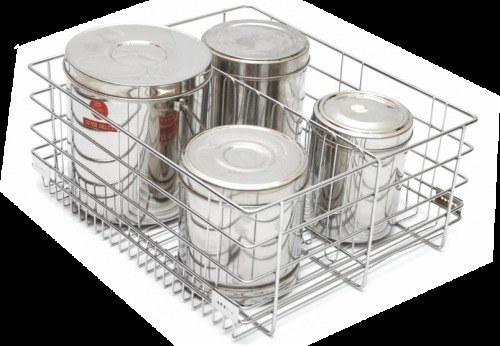 Modular Kitchen Wire Baskets