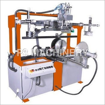 Semi Automatic Round Screen Printing Machine
