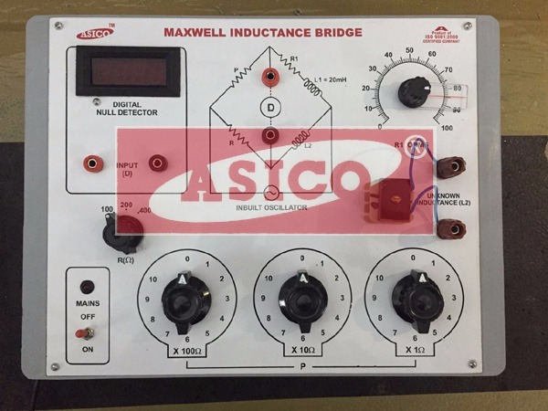 Maxwell Inductance Bridge