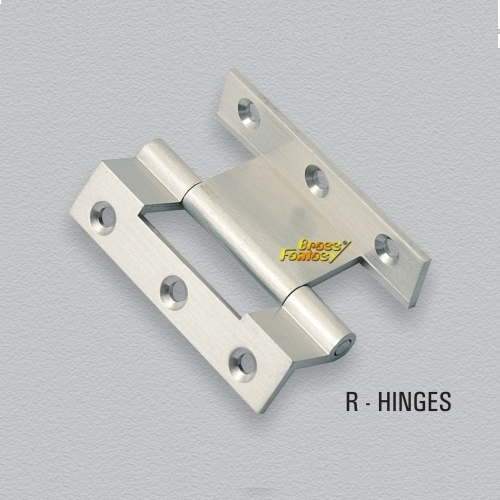Brass R Hinges