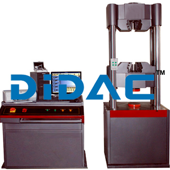 Hydraulic Servo Universal Testing Machines With High Accuracy No Interstice