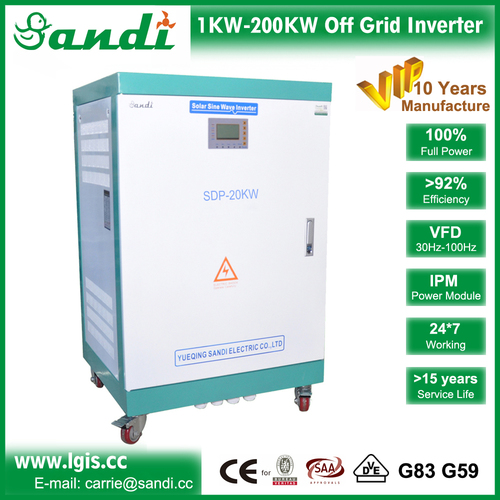 Three Phase Sine Wave Inverter Charger