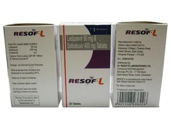Ledivaspvir 90 mg and Sofosbuvir 400 mg
