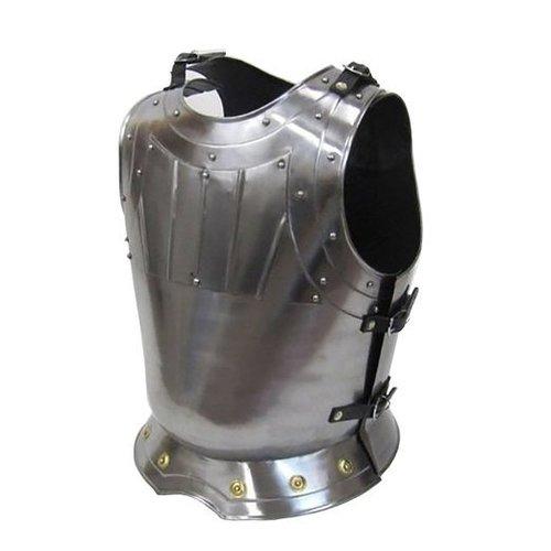 Steel Armor Breastplate W/ Brass - Medieval - Wearable Costume