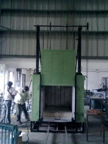 VERTICAL LIFTING OVEN