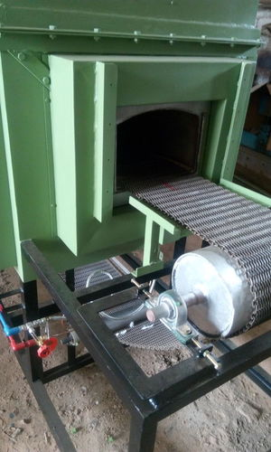CONVEYOR HIGH TEMPERATURE HARNING FURNACE