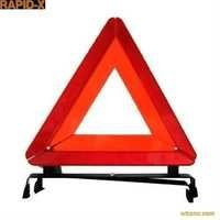 Triangle safety sign