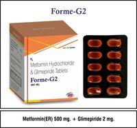 Glimepiride + Metformin (SR)