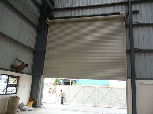 Gear Operated Rolling Shutters