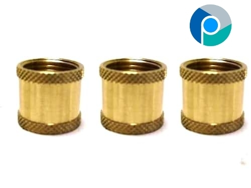 Brass Knurled Coupling