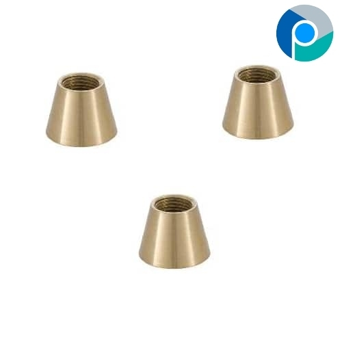 Brass Large Tapered Coupling