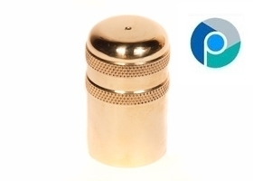 Brass Knurled Caps Manufacturer