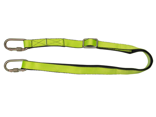 Work Positioning Lanyard with Ring Adjuster