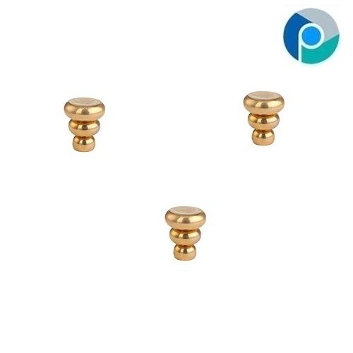 Brass Mini Rotunda Knob