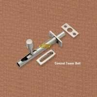 Brass Concealed Tower Bolt