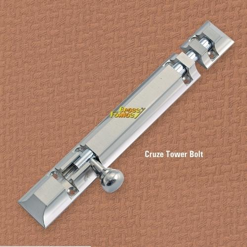 Brass Cruze Tower Bolt