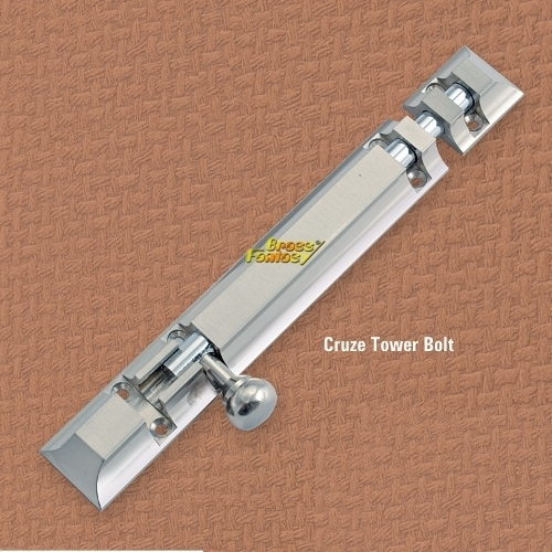 Brass Cruze Tower Bolt