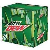 Mountain Dew, Caffeine-Free Mountain Dew, Diet Mountain Dew , Mountain Dew Throwback