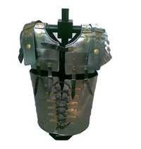Roman Lorica Armor Breastplate In Steel Wearable Costume