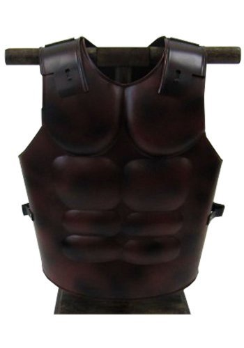 Greek Armor Breastplate Muscle - Steel With Antique Finish