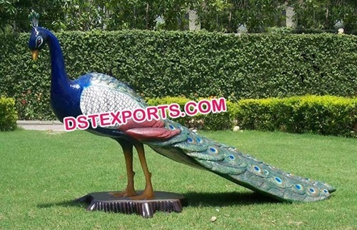 Fiber Peacock Theme Decoration