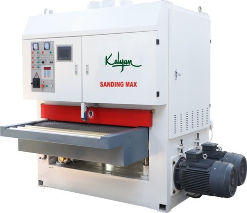 TWO HEAD WIDE BELT SANDING MACHINE (KI-1300-RP-RP-B)