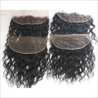 Indian Raw Natural Wavy Frontal,Transparent lace