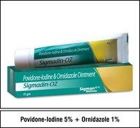 Providone-lodine & Ornidazole Ointment