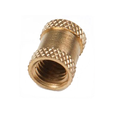 Brass Double Knurled Inserts