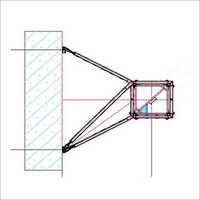 Wall Anchor Tower Crane Parts