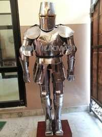Medieval Knight Crusader Full Suit Of Armor