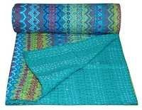 Indian Designer Kantha Quilt