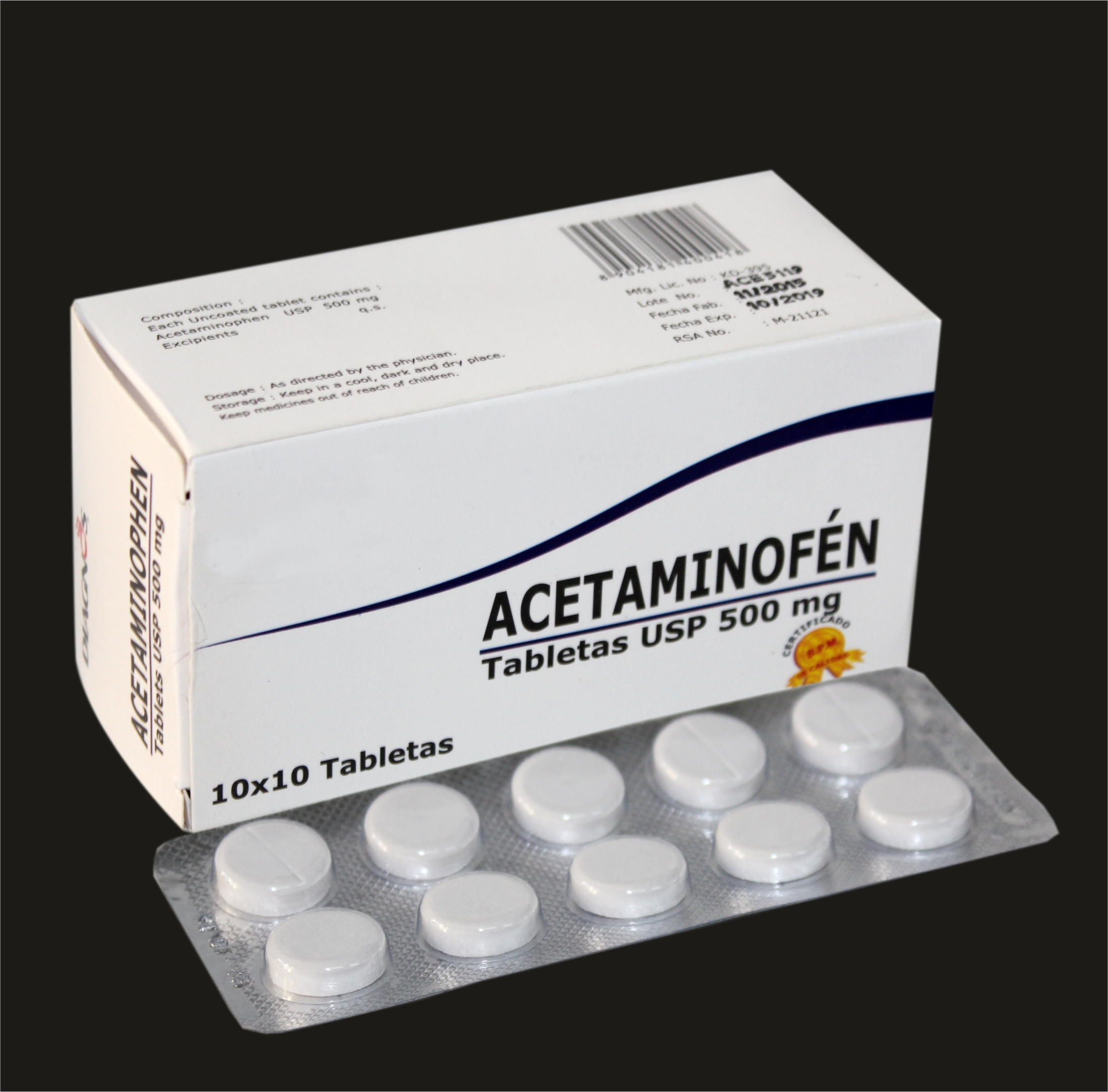 Acetaminophen Tablets