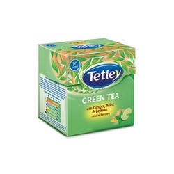 Green Tea with Ginger Mint & Lemon