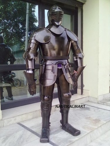 fully medieval suit of armor manufacturer supplier exporter from india