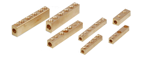 Brass Straight Terminal Connector