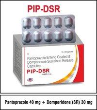 Pantoprazole + Domperidone  (SR)