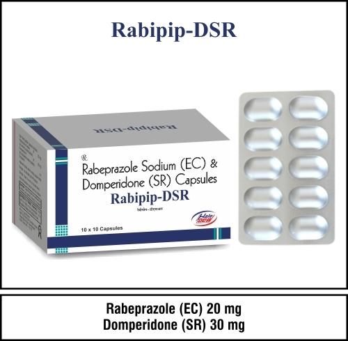 Rabeprazole 20 mg + Domperidone ( (SR) 30 mg.
