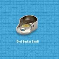 Brass Oval Socket Small