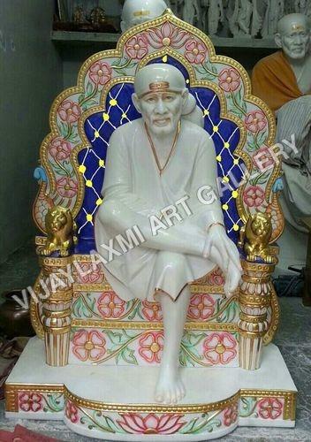 Marble Sai Baba Idol