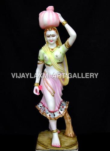 Marble Bani Thani Statues