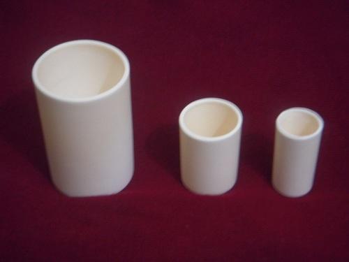 cylindrical crucible