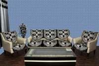 Chenille Sofa Panel Destiny