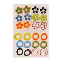 Enamel Stud Earring For Women (Multi-Colour)