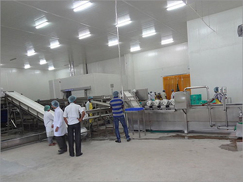 Vegetable Fruit Processing line