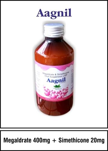 Magaldrate 400 mg. + Simethicone 20 mg.